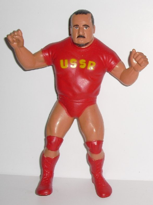 Vit 80s NIKOLAI VOLKOFF Russian USSR Wrestling Figure