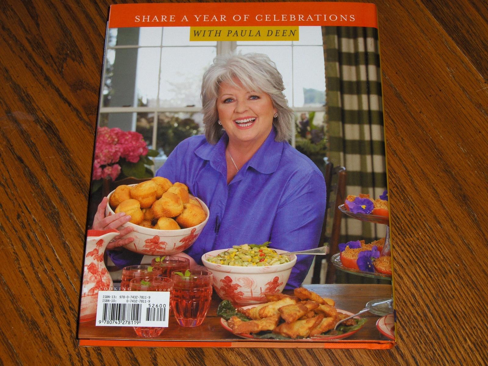 Paula Deen Celebrates Cookbook