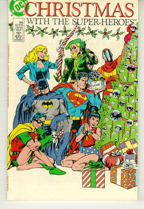 Christmas with the super heroes  01