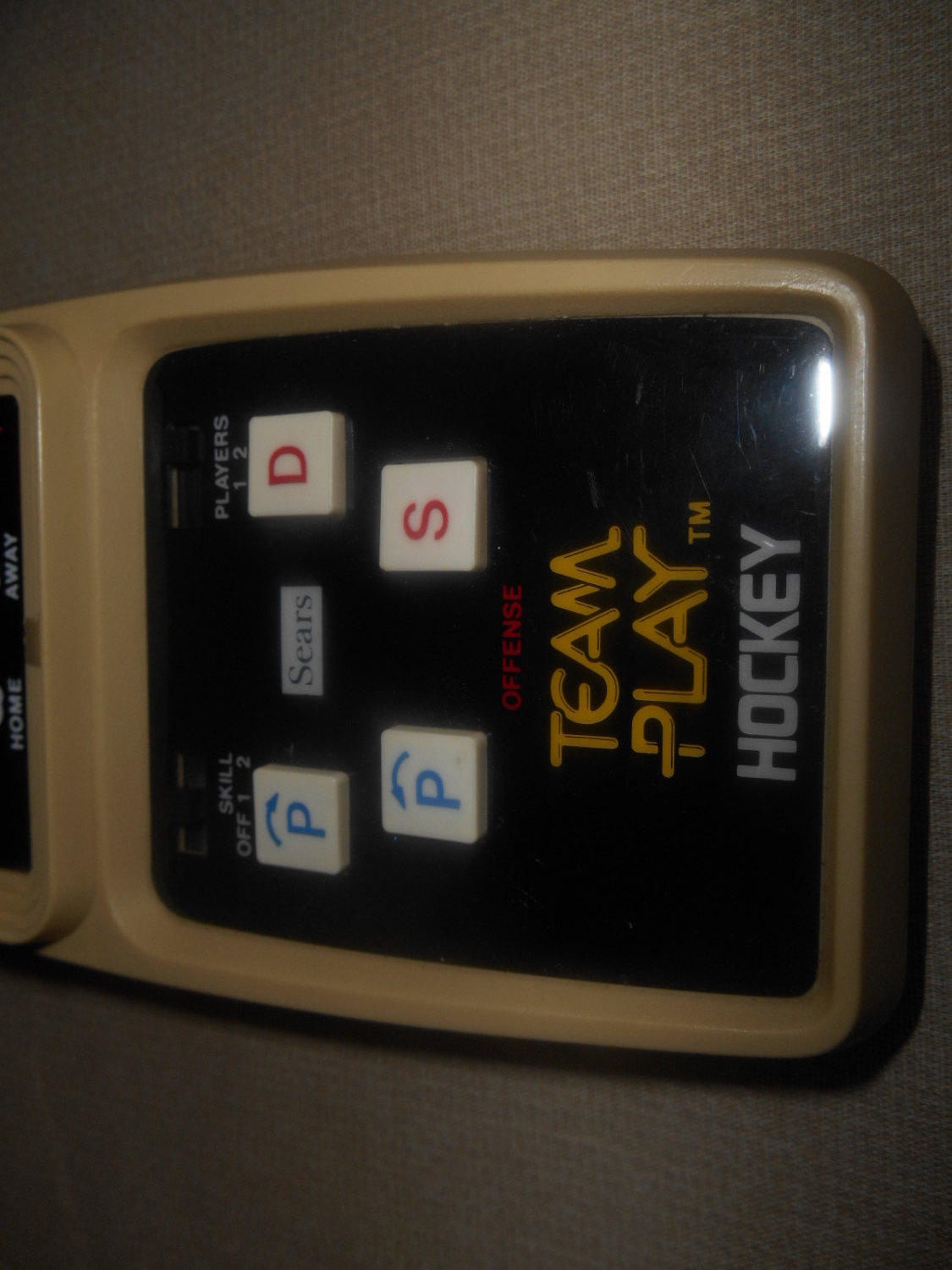 vgt sears team play hockey by coleco tested works