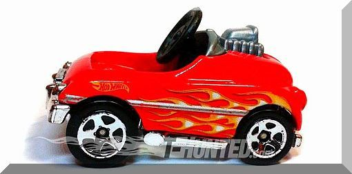 Hot Wheels - Pedal Car: HW City 2015 - Surf Patrol #74/250 *Red Edition*