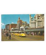 Atlantic City NJ Tram Cars Boardwalk Hotels Vintage Freeman Postcard - $5.69