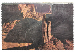 AZ Canyon de Chelley Spider Rock Vtg Postcard 4X6 - $6.36
