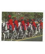 Africa Senegal La Garde Rouge de Dakar Red Coated Horse Guard Vtg Postca... - $5.69