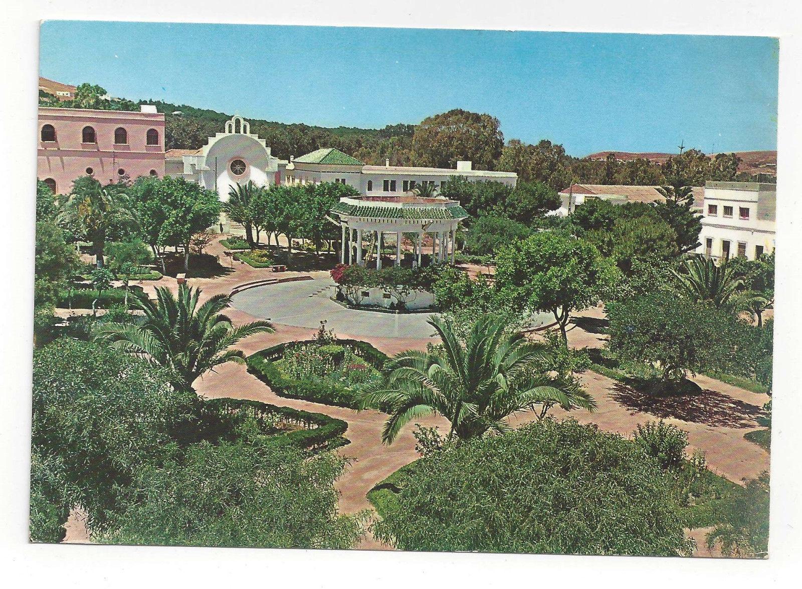 Alhucemas Island Plaza Morocco Africa Spain Vtg Postcard 4X6 Maroc