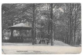 Amersfoort Netherlands Plantsoen Vtg 1911 GG Veenendaal Postcard - $4.74