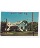 Asbury Park NJ Public Library First and Grand Avenue Vintage Postcard - $5.69