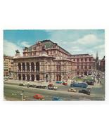 Austria Vienna Opera House Theater Wien Vtg Chrome 1971 Postcard 4X6 - $6.36