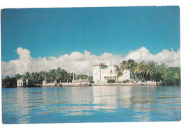 FL Miami Vizcaya From the Bay Deering Estate Dade County Art Museum Vtg ... - $5.69