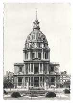 France Paris Dome des Invalides Vtg 1954 Guy Postcard 4X6 Stamp - $4.74