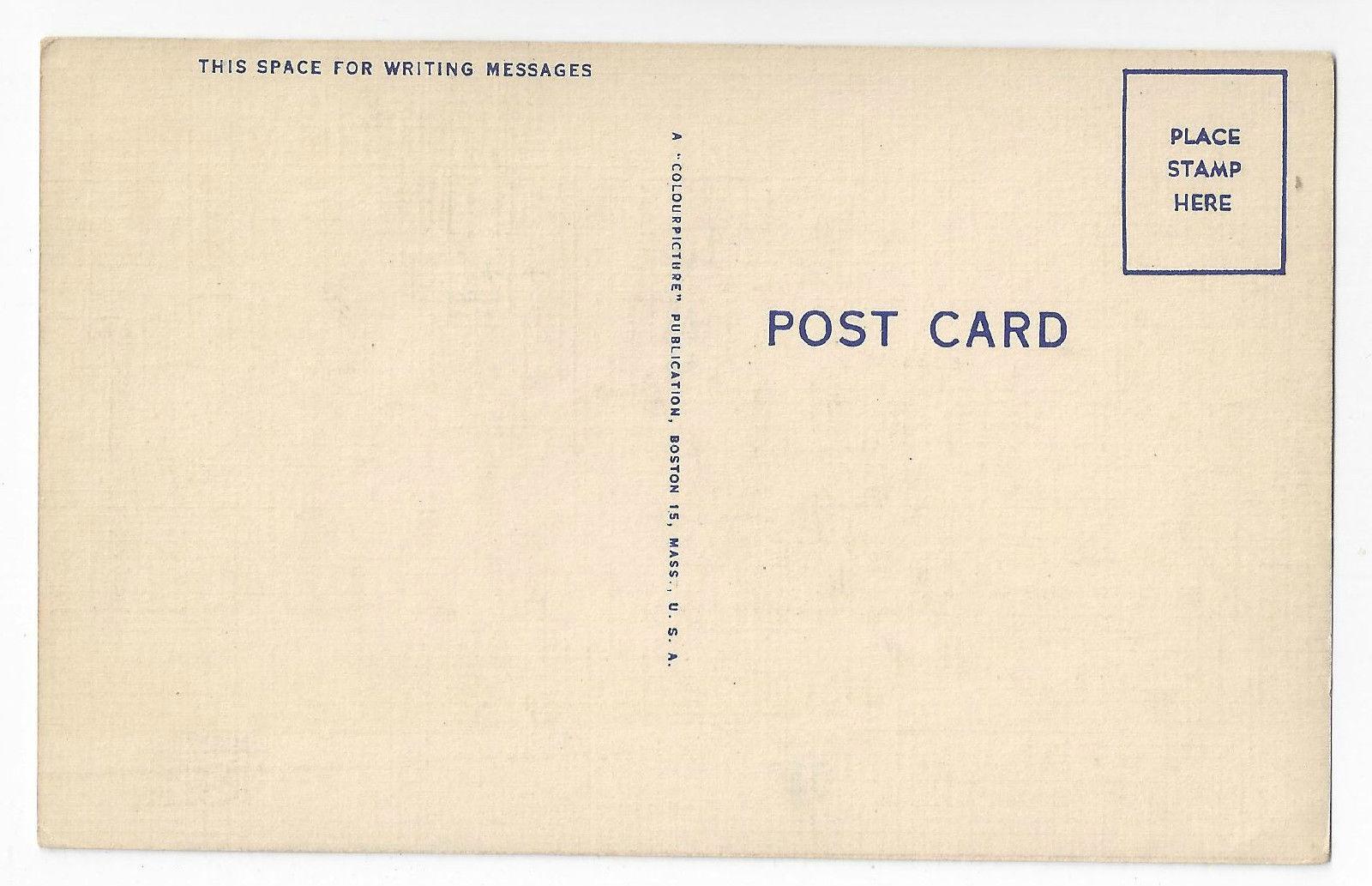 Buffalo NY Kleinham's Music Hall Linen Postcard