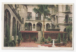 CA Riverside Glenwood Mission Inn Spanish Patio Alhambra Galleries Vtg P... - $5.69