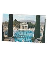 CA San Simeon Heart Castle Mansion Neptune Pool Greco Roman Temple Vtg P... - $6.64