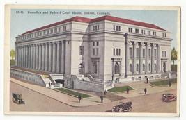 CO Denver Post Office and Federal Court House Vtg Tammen Postcard - $6.64