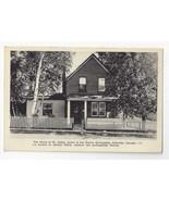 Canada Callander Home of Doctor Dafoe Dionne Quintuplets Vtg Postcard Re... - $6.64