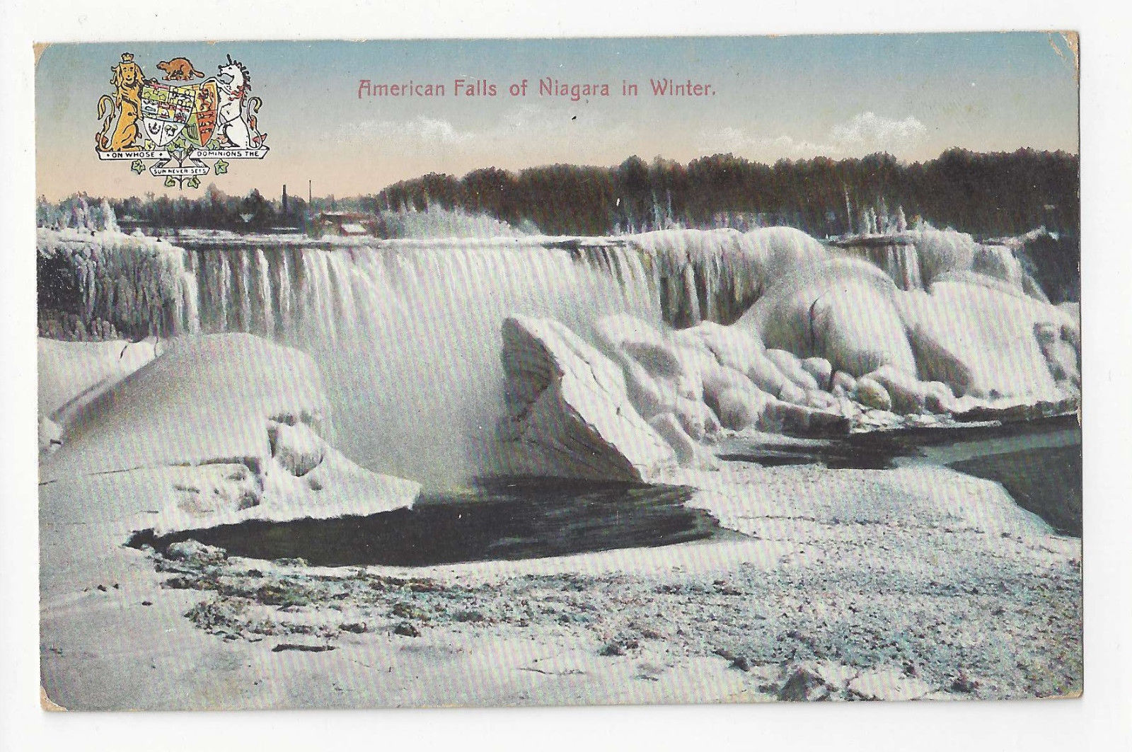 Canada Lot of 3 Niagara Falls Vtg Postcards American and Horseshoe Falls