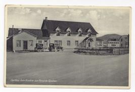 Canada Quebec Caribou Inn Fox River Riviere aux Renards Vintage Postcard Cars - $6.64