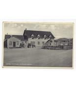 Canada Quebec Caribou Inn Fox River Riviere aux Renards Vintage Postcard... - $6.64
