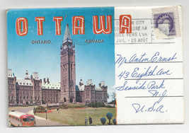 Canada Ottawa Souvenir Folder Ontario 12 Views 1962 - $6.64