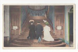 Canada Quebec Sacred Stairs Ste Anne de Beaupre Vtg Postcard 1923 - $5.69