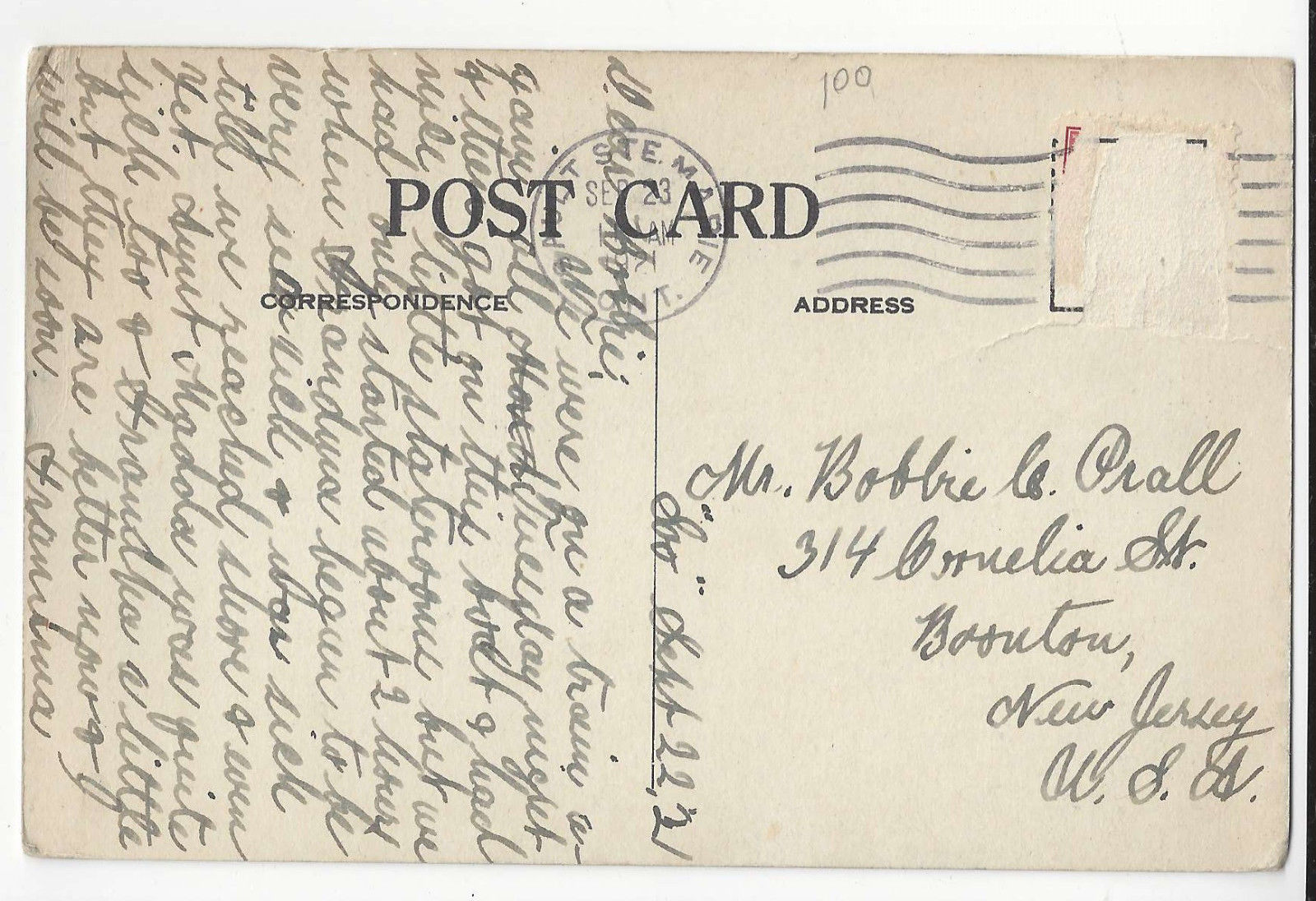 Canadian Pacific Great Lakes Steamer St Mary's River Vtg Postcard 1921