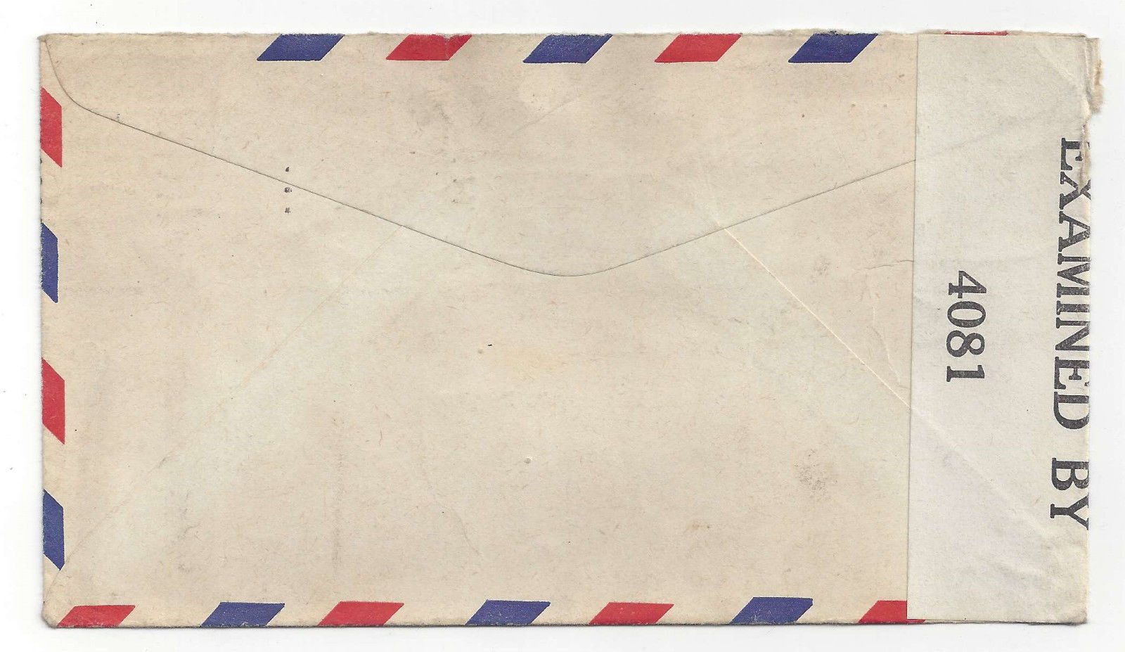 Canal Zone Censored Air Mail WWII Cover to US 1942 Sc C10