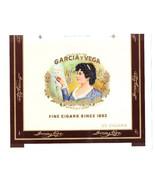Cigar Box Label Garcia y Vega Embossed - $4.74