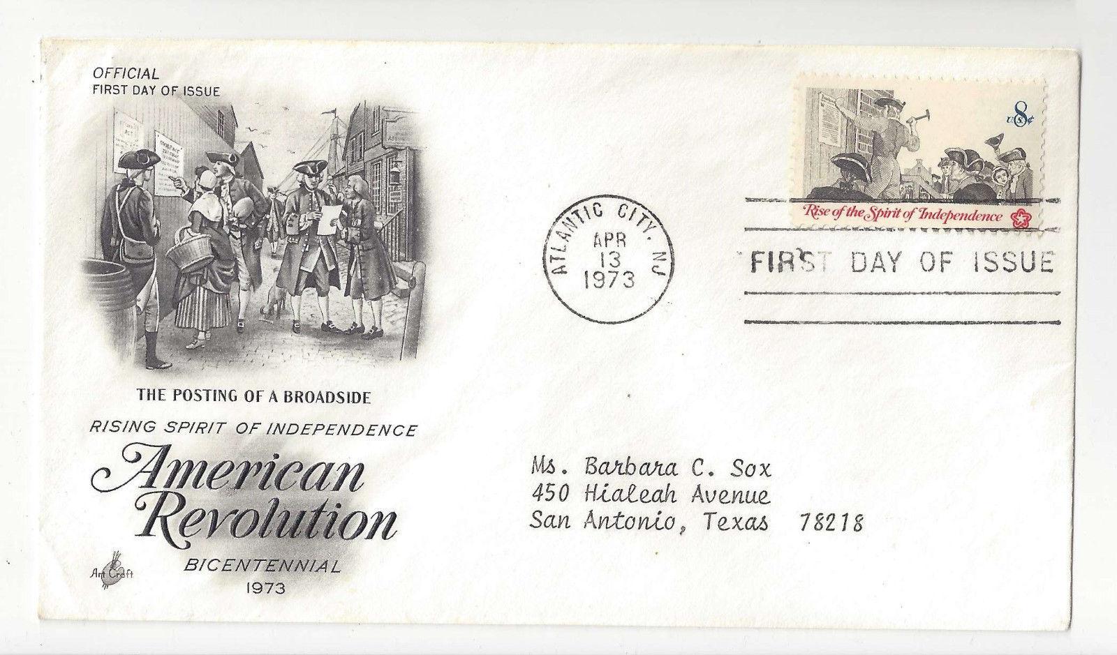 FDC Lot of 3 Sc# 1097 1477 1826 Lafayette American Revolution Art Craft Cachet