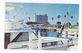 FL St Petersburg Hilton Hotel Marina Boats Vintage Postcard - $6.64