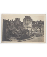 France Chateau Thierry Street WWI War Ruins Guerre Real Photo Post Card ... - $6.36