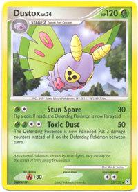 Dustox 25/130 Rare Diamond & Pearl Pokemon Card