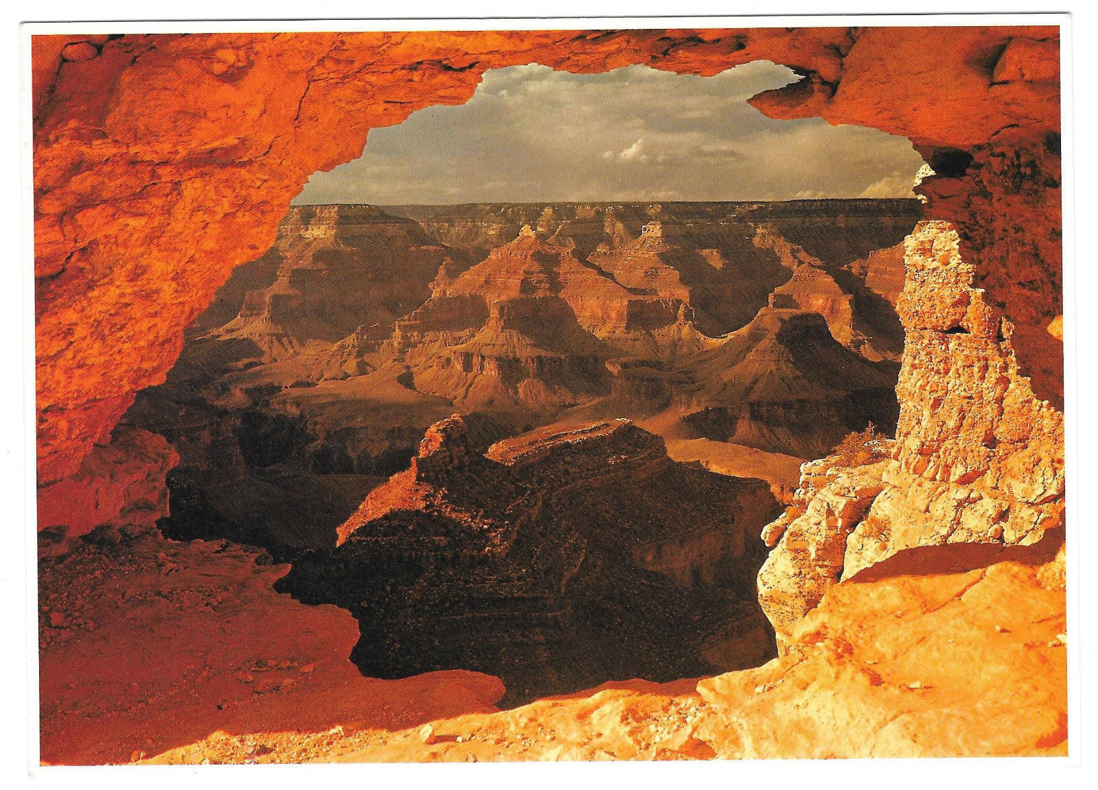 Grand Canyon Impact Photo Print John Wagner Collection David Muench 5 X 7