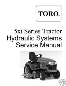 Toro 5xi Series Hydraulic Systems Service Manual