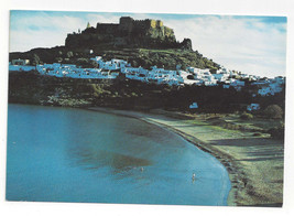 Greece Rhodes Rodos Lindos Acropolis Beach La Playa Aerial View Vtg Post... - $5.69