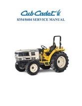 Cub Cadet 8354-8404 Service Manual - $14.36