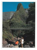 Hawaii Maui Iao Needle Vtg Postcard 4X6 Glossy Hawaiian Island G Bacon P... - $6.36