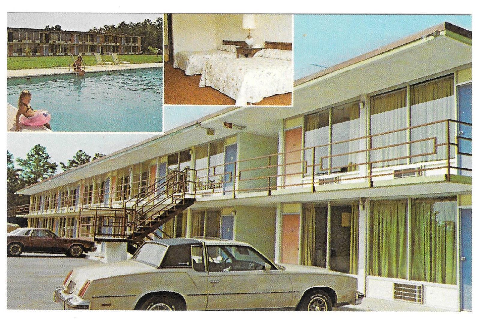 Helton Inn White Pine Tennessee TN Vintage Hotel Motel Postcard Rte 1