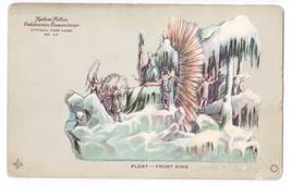 Hudson Fulton Celebration Postcard Float No 55 Frost King Redfield 1909 - $5.69