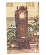 LA New Orleans Hotel Monteleone French Quarter Grandfather Clock Vtg Pos... - $4.74