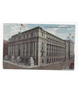 NY US Custom House New York City Vtg ca 1920 Postcard - $6.45