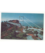 NC Grandfather Mountain Mile High Swinging Bridge Linville Peak Vtg Post... - $4.74