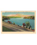 NY Adirondacks Seventh Lake from Highway Inlet Vtg Jubb Postcard - $6.17