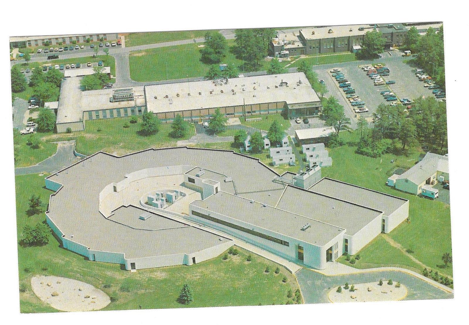 NY Upton Brookhaven National Laboratory Synchrotron Light Source Vtg Postcard