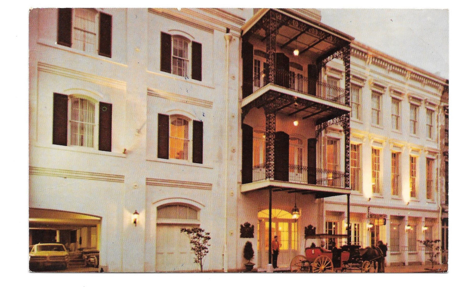 New Orleans Bienville House Motor Hotel Motel Decatur Street Vtg 1973 Postcard