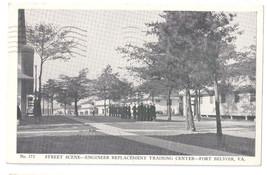 WWII Fort Belvoir VA Engineer Training Center Vintage Military Postcard - $9.45