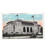 Washington DC Pan-American Union Building Car Vtg Reynolds Postcard - $4.74