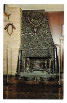 PA Philadelphia Old Original Bookbinders Restaurant Fireplace Vtg Postcard - $4.74