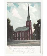 PA Lancaster Saint Stephen's Lutheran Church Vtg UDB Postcard ca 1905 - $6.45
