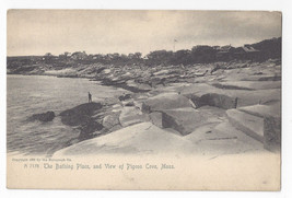 Pigeon Cove MA The Bathing Place Vintage Rotograph UND Postcard - $4.74