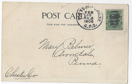 Pittsburgh PA Streetcar RPO 1906 TR 8 on PPC - $4.74
